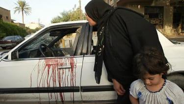 Blackwater massacre in Baghdad