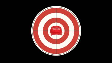 The Trump target.
