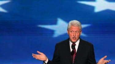 Bill Clinton barely mentioned his wife by name during Wednesday's big Democratic convention speech, but in the eyes of liberals, he still managed to boost Hillary's presidential prospects.