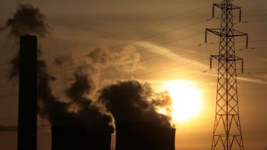 Factory emissions.