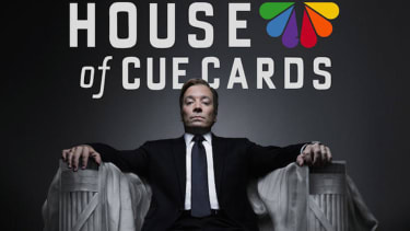 Jimmy Fallon does his best Kevin Spacey impression in House of Cue Cards