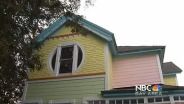 Colorful house based on Up looks like 'a clown,' angry neighbor says
