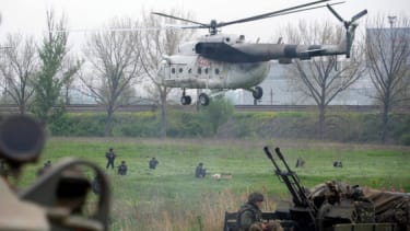 Ukraine's latest attempt to retake several eastern cities is not going well