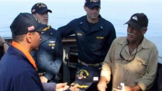 Man rescued after nearly 2 weeks missing at sea