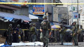 Bomb in Philippines