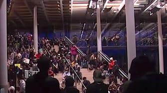 Protesters occupy City Hall