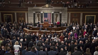 House members take the oath of office.