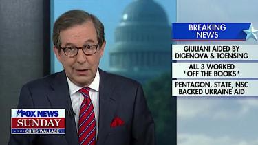 Chris Wallace on Fox News Sunday