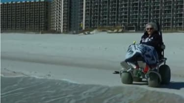 Watch this centenarian see the ocean for the first time