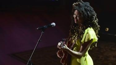 Valerie June performs in 2014.