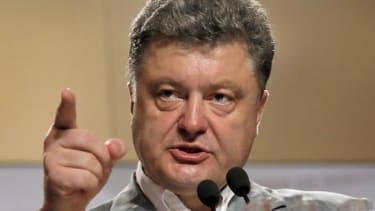 European ally Petro Poroshenko wins Ukrainian election