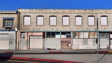 A Los Angeles street.