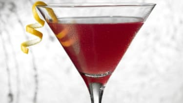 A vodka cranberry may loosen up your focus and encourage more creative thinking, a new study suggests.