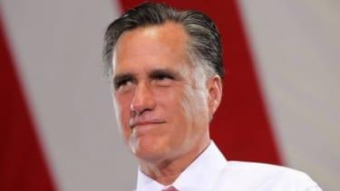 Mitt Romney in Las Vegas on May 29