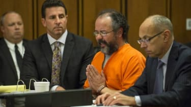 Ariel Castro pleads to Judge Michael Russo during his sentencing on August 1. His house will be demolished today.