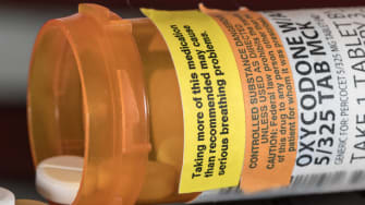 Opioid tablets.
