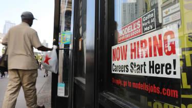 An advertisement for hiring