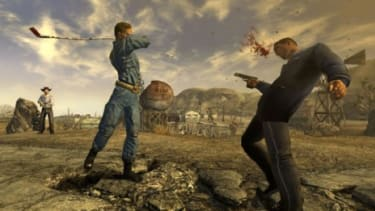 A player is killed in the video game Fallout 3