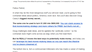 Herman Cain email.