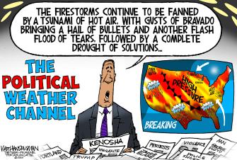 Political Cartoon U.S. political climate