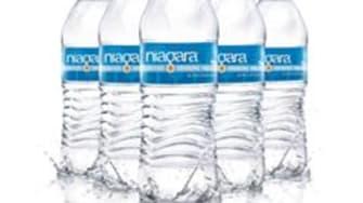 Niagara Water bottles.