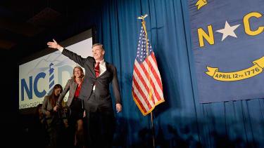North Carolina's Governor-elect, Roy Cooper.