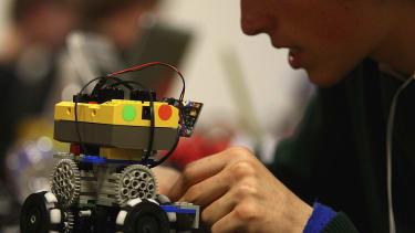 Robotics competition.