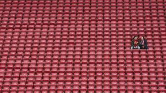 Soccer fans.