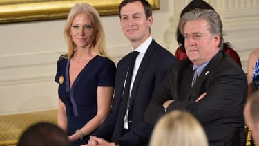 Three of the four top advisers to President Trump