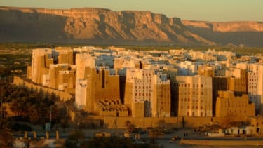 The mud skyscrapers of Shibam