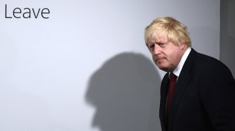 Boris Johnson says there's not hurry to leave the EU