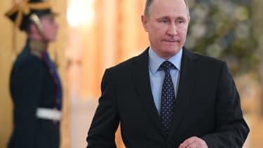 Russian President Vladimir Putin in Moscow
