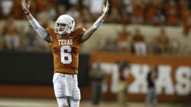 Backup quarterback Case McCoy of the University of Texas Longhorns: If college athletes were paid, saysTaylor Branch at The Atlantic, U of T players would be worth at least $500,000.