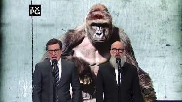 Stephen Colbert and Michael Stipe recap 2016
