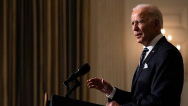 Biden speaks in the White House
