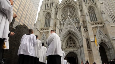 St. Patrick's Cathedral in New York City.