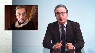 John Oliver on RBG and the future of American democracy