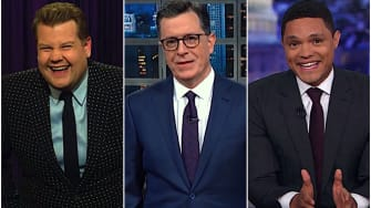 Late night hosts on Trump's India adventure