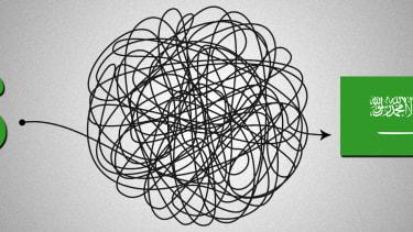A tangle.