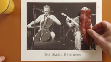 Kevin Bacon's brother stars in clever turkey bacon ad