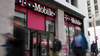 A T-Mobile store in San Francisco.
