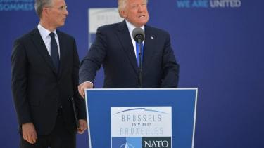 Trump talks at NATO summit