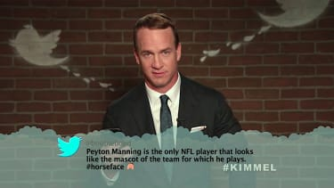 Peyton Manning goes on Jimmy Kimmel Live