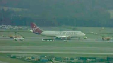 Watch troubled U.S.-bound Virgin Atlantic flight make emergency landing