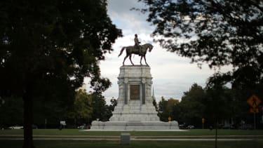 The Robert E. Lee statue in Richmond, Virginia.