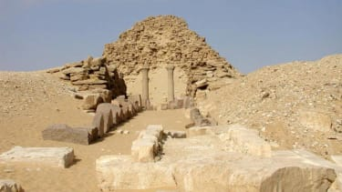 The discovery is only the third known statue of Sahure