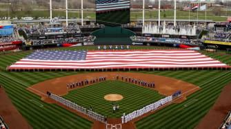 The Kansas City home opener on April 8