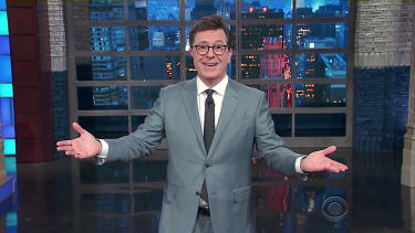 Stephen Colbert thanks Trump for insulting him