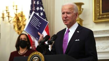 Biden speaks about his COVID-19 response plan