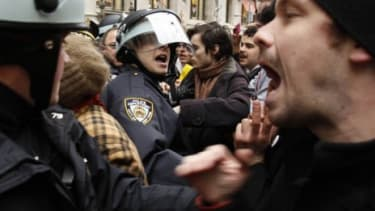 Occupy Wall Street demonstrators
